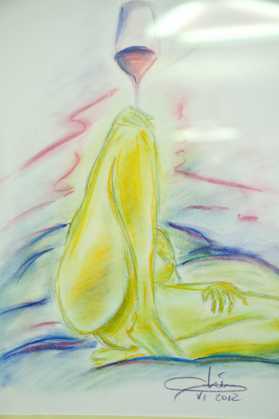 3633Schilderij van Piero Mastroberardino